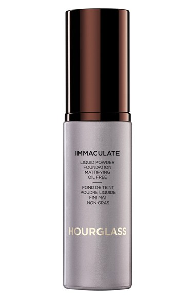 Oil Free Liquid Foundation by Hourglass Immaculate Mattifying Powder 2016