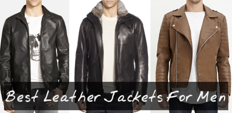 Photos: The 10 Coolest Men's Leather Jackets!