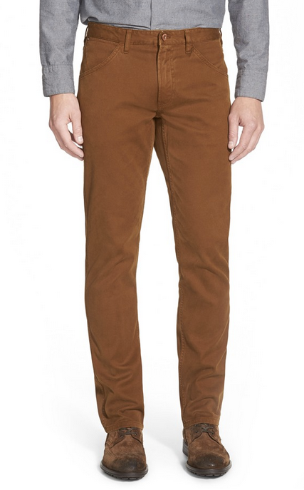 Brown Khaki Pants Men