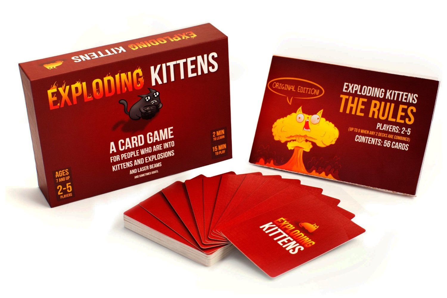 Exploding Kittens Card Game 2016