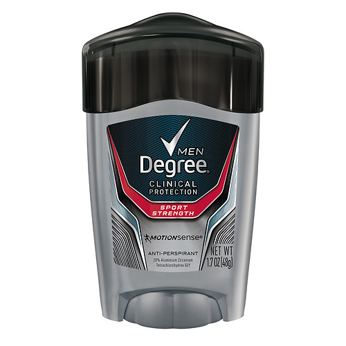 Degree Clinical Sport Strength Deodorant for Men 2016