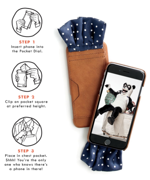 How to Use the Pocket Dial from J Crew and Jimmy Fallon Directions