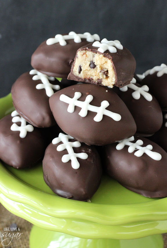 cookie-dough-football-recipe-for-superbowl-2016 2